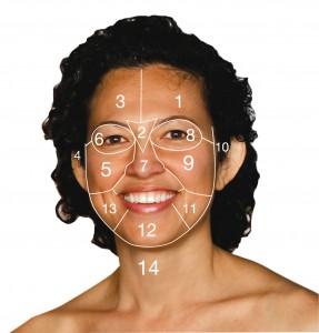 face map girl